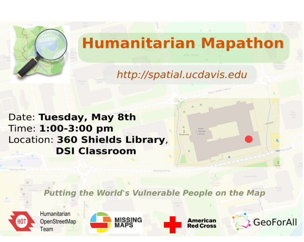 maptimeDavis Humanitarian Mapathon | Center for Spatial Sciences