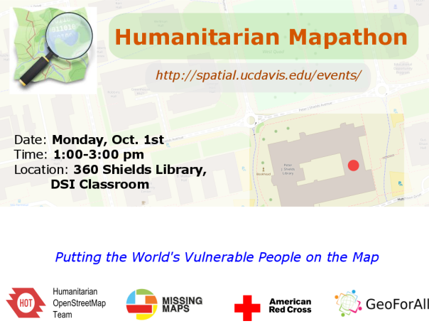 maptimeDavis Humanitarian OpenStreetMap Mapathon | Center for